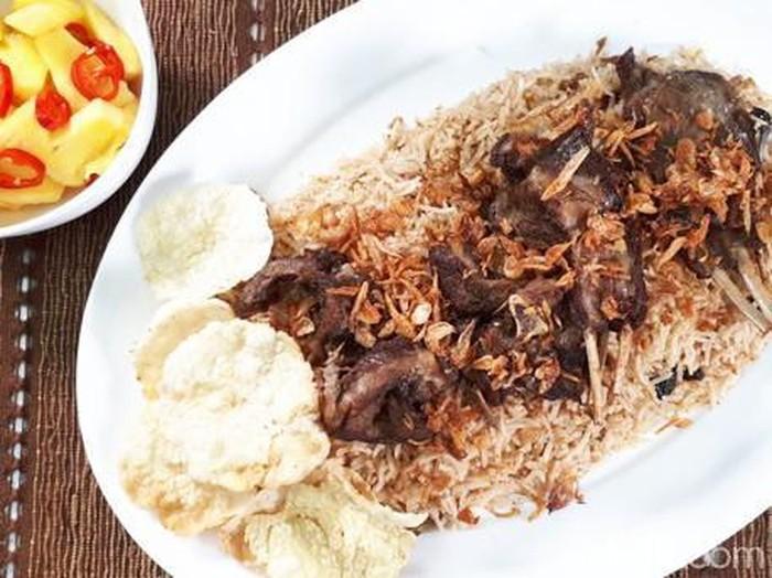 Resep Nasi Kebuli Kambing Rice Cooker