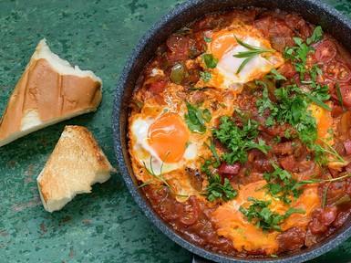 Resep Pembaca: Telur Masak Tomat ala Timur Tengah yang Praktis untuk Sarapan