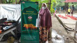 Program Idul Adha Sasa Bagikan Daging Kurban di 7 Titik Pulau Jawa