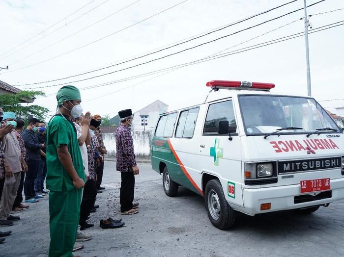 Seorang perawat di RS Panembahan Senopati Bantul meninggal positif Corona,