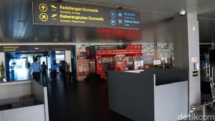 Maskapai penerbangan yang beroperasi di Bandara Husein Sastranegara Bandung membatalkan seluruh jadwal keberangkatan. Hal ini karena sepinya penumpang.