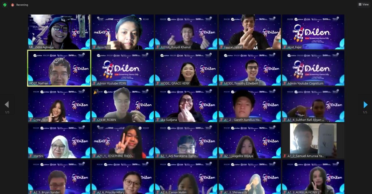 Telkom-Gojek bawa startup digital besutan para pelajar Go International.