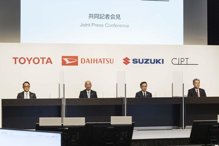 Toyota, Daihatsu, Suzuki Kolaborasi Bikin Mobil Komersial Listrik