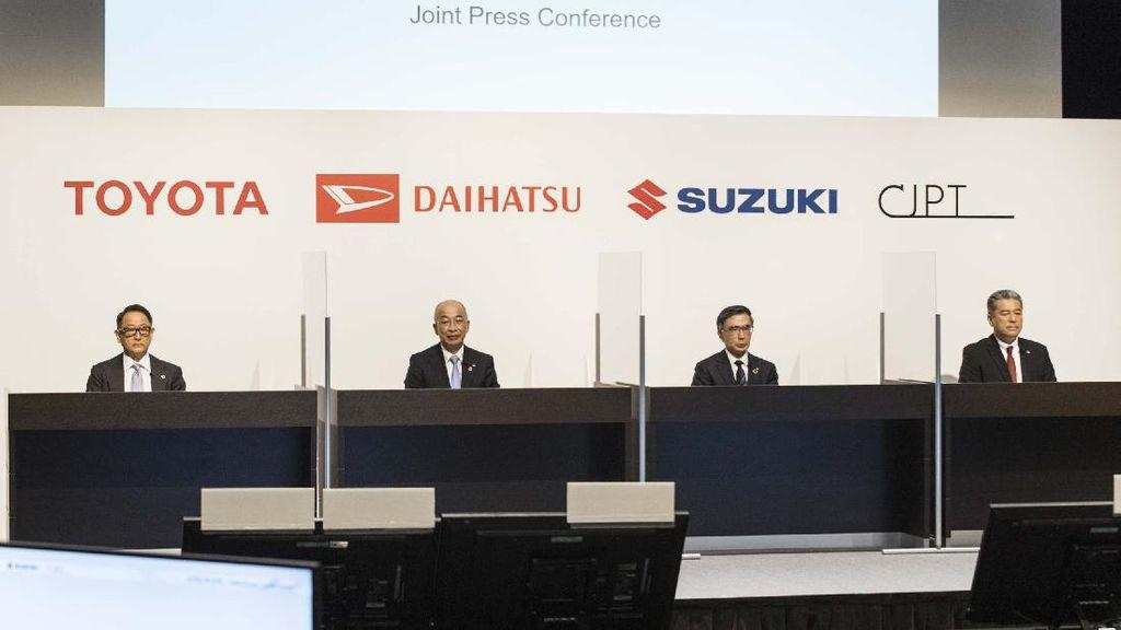 Toyota, Daihatsu, Suzuki Akur Bikin Mobil Listrik