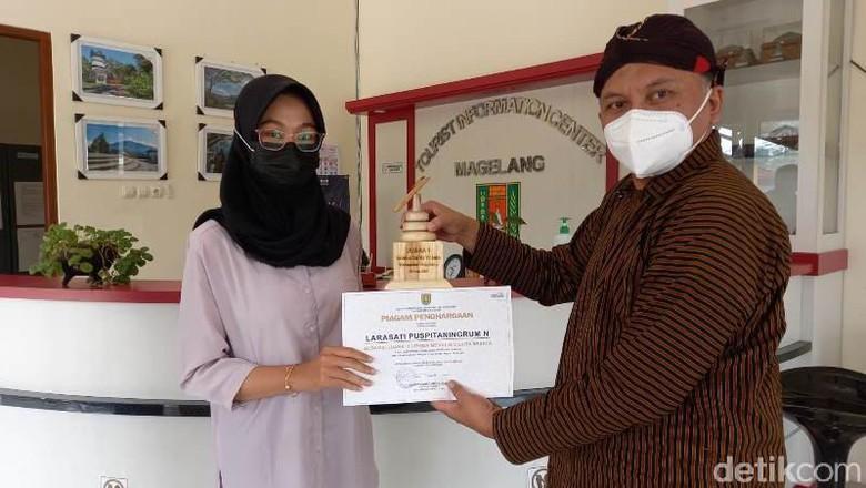 Pemenang lomba menulis wisata Magelang.