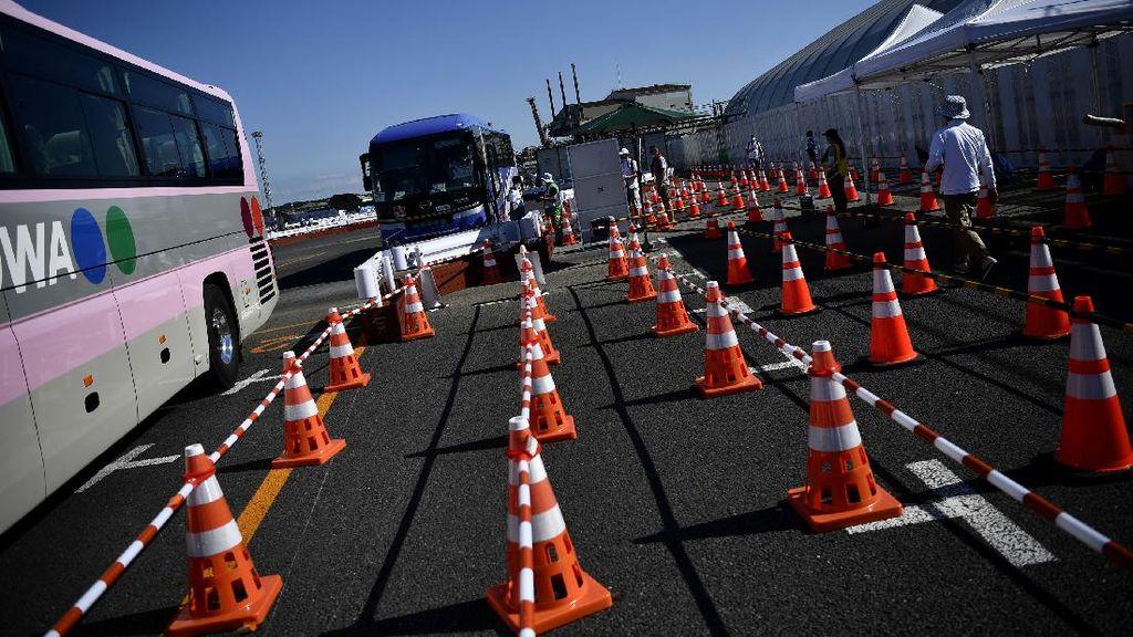 Melihat Bus Khusus yang Angkut Peserta Olimpiade Tokyo
