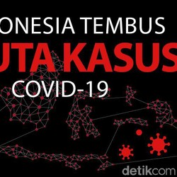 COVID-19 RI Tembus 3 Juta, Tambah Sejuta Kasus dalam Sebulan