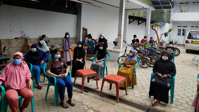 50 Anak Yatim di Panti Asuhan Al Mubarokah Tangsel Divaksin