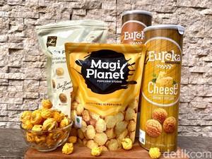 Adu Rasa 3 Merek Popcorn Karamel dan Keju, Mana yang Paling Enak?