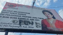 Kenapa PDIP Baper dengan Tulisan OPEN BO di Baliho Puan? Ini Kata Pengamat