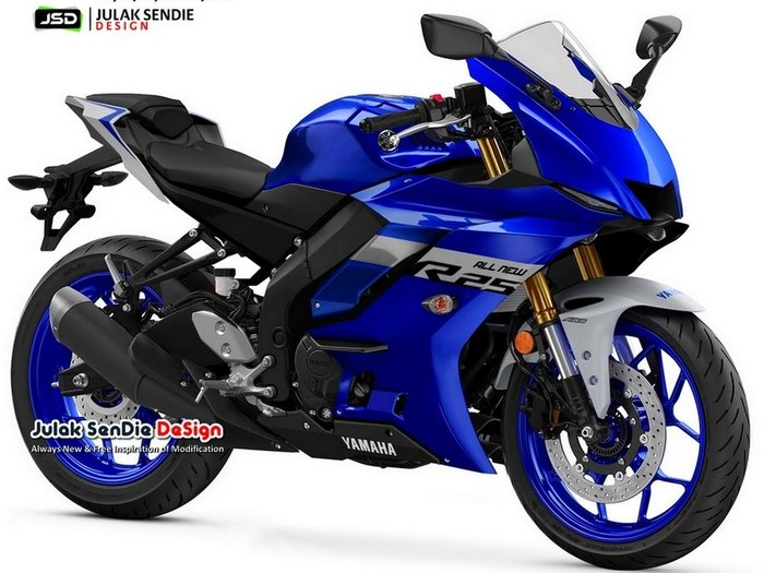 Digital modification All New Yamaha R25 oleh Julak Sendie Design