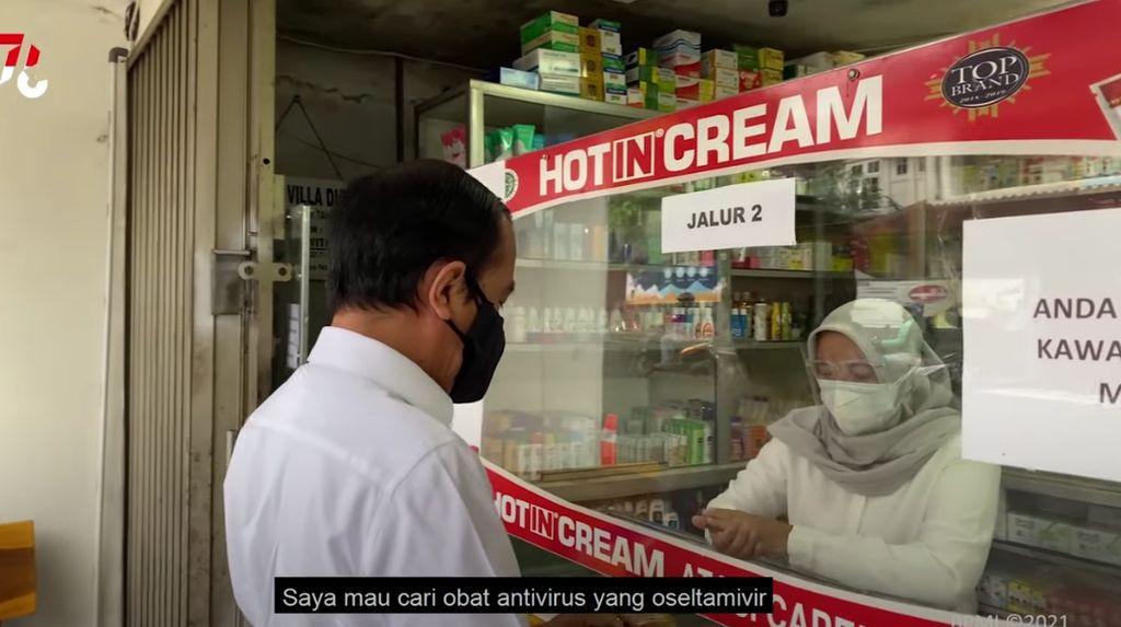 Dicari Jokowi di Apotek, Oseltamivir-Azithromycin Termasuk Obat COVID-19?