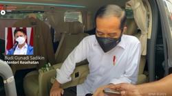 Jokowi Telepon Menkes Usai Cek Stok Obat Terapi Corona Kosong di Apotek