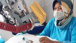 Kasus Corona Melonjak, Permintaan Baju Hazmat Meningkat