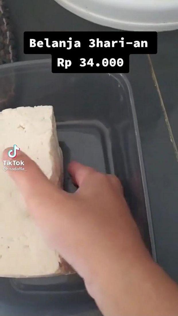 Modal Rp 34 Ribu, Netizen TikTok Bagikan Tips Masak untuk 4 Hari!