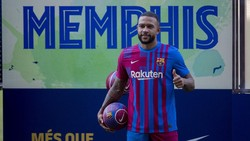 Gabung ke Barcelona, Memphis Depay Wujudkan Mimpi Kakeknya