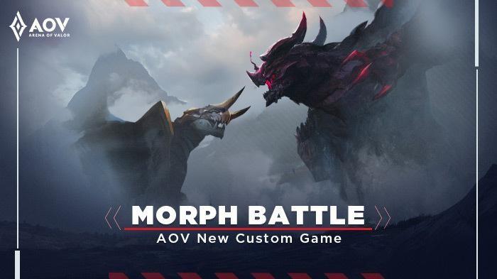 Mode Morph Battle: Main Sebagai Dark Slayer dan Drake di Arena of Valor