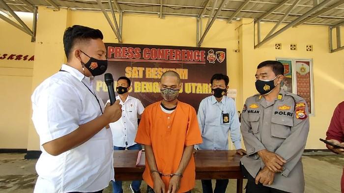 Polisi Bengkulu amankan seorang anak yang tega menganiaya orang tuanya