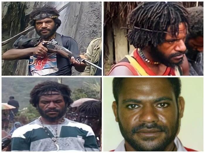 Tim gabungan menangkap DPO Polres Puncak Jaya bernama Osimin Wenda (30). Ini tampang Osimin yang pernah menyerang Tito Karnavian saat jabat Kapolda Papua. (dok Polda Papua)