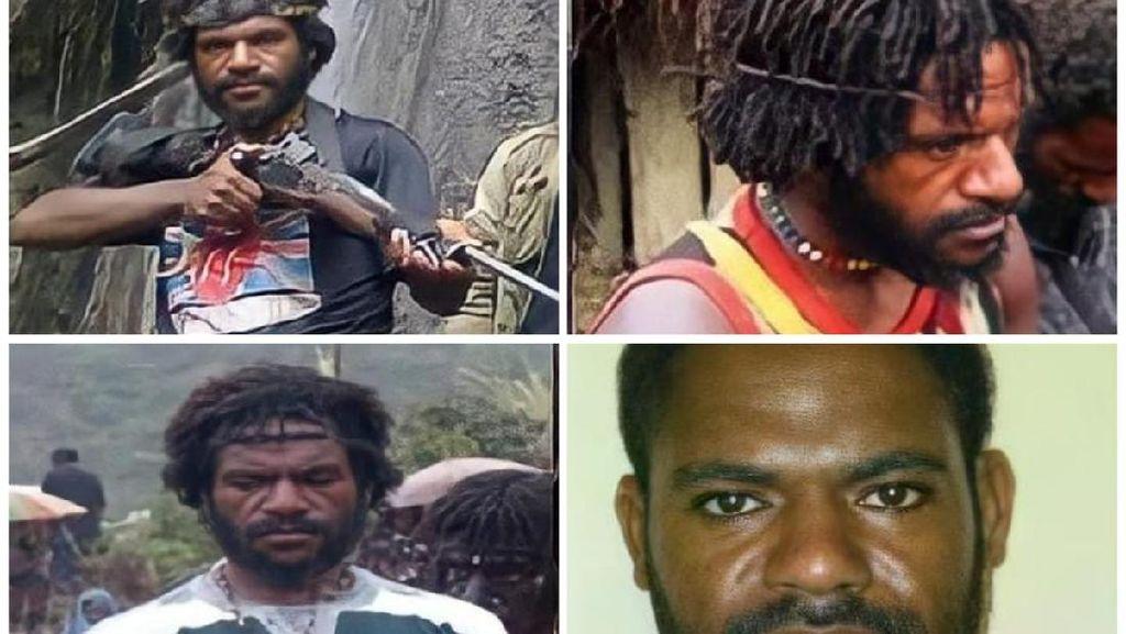 Tampang Osimin Wenda Teroris KKB Penembak Rombongan Tito Karnavian