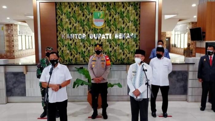 Tito Karnavian di Kabupaten Bekasi (Antara)