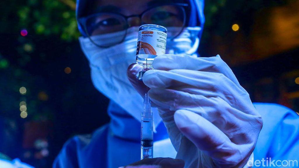 Antusias Vaksinasi di Kuningan Tinggi, Sayang Stok Vaksin Terbatas
