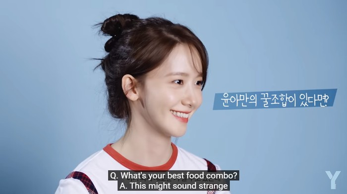 Yoona SNSD Suka Kombinasi Apel dan Selai Kacang