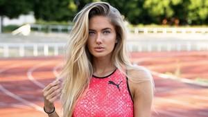 7 Pesona Alica Schmidt, Pelari Cantik di Olimpiade Tokyo 2020