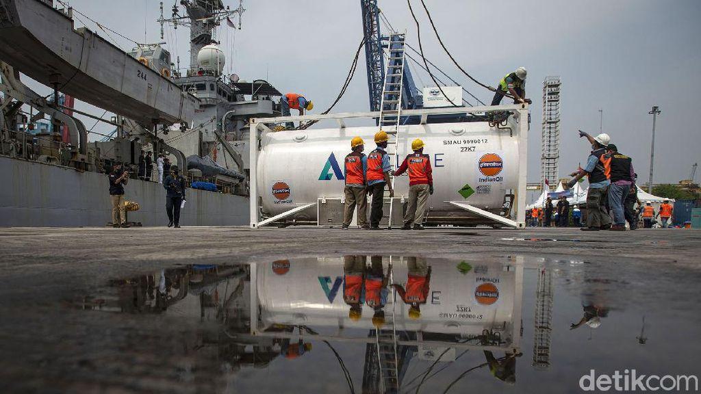 RI Dapat Bantuan 100 Ton Oksigen dari India