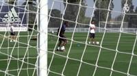 Video Latihan Pertama David Alaba di Real Madrid
