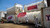 Lagi, Perusahaan China diKI Morowali Sumbang 129 Ton Oksigen ke RI