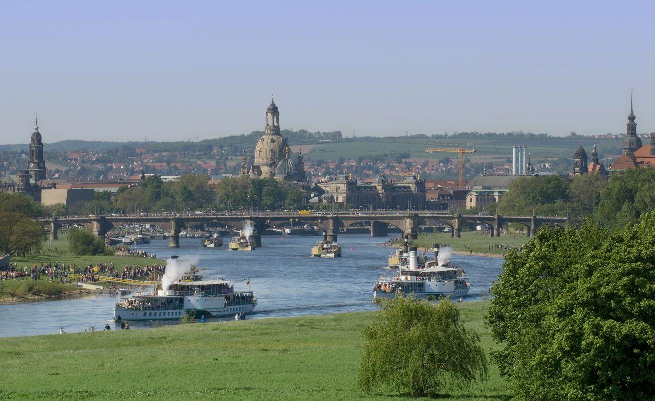 Lembah Dresden Elbe, Jerman