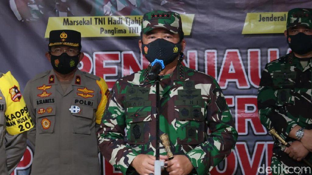 Malam-malam Panglima TNI Blusukan ke Bantul, Ada Apa?