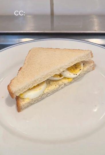Menu Sandwich dari Tahun 1900-an