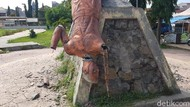 Misteri Perusak Patung Ikon di Sulbar Bikin Gempar