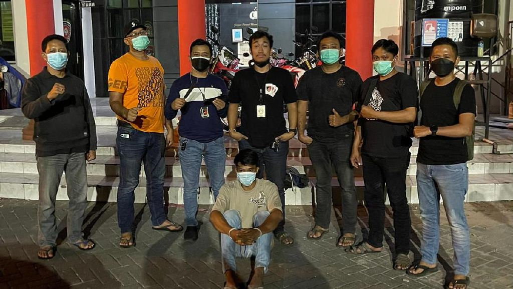 Satu dari Dua Pembunuh Pedagang Pasar Kapasan Surabaya Tertangkap