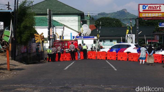 Potret Rekayasa Lalin di Cimahi Imbas Pembangunan Underpass Sriwijaya