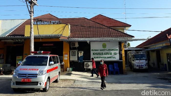Rumah Sakit Lapangan Khusus COVID-19 (RSLKC) di Bambanglipuro, Bantul