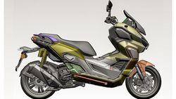 Inikah Wujud All New Honda ADV 350 yang Akan Meluncur Akhir 2021?