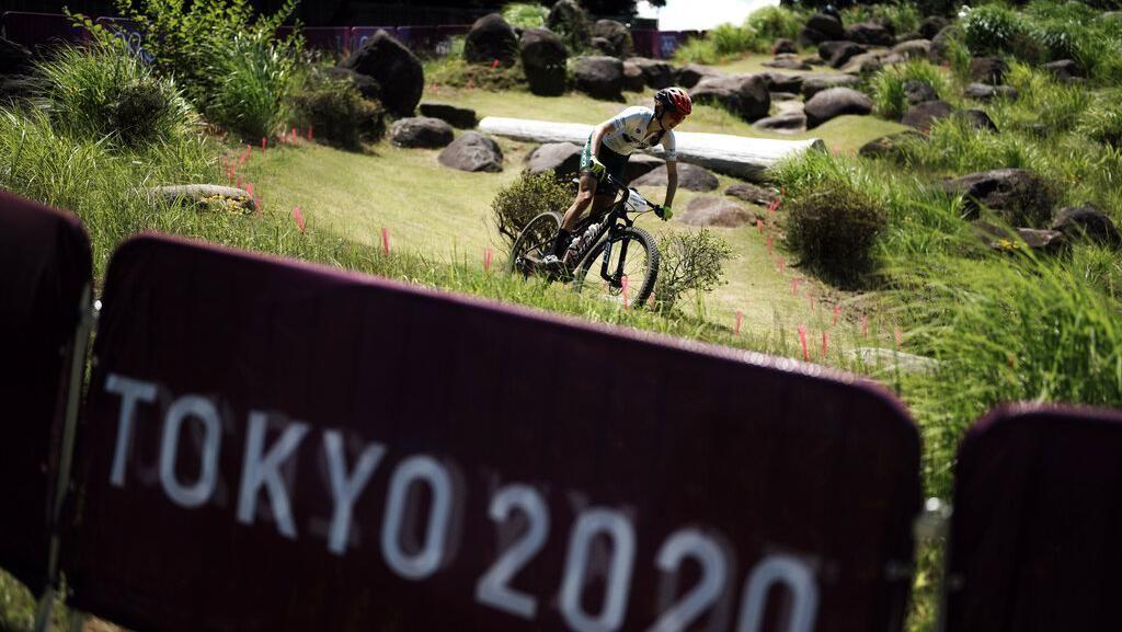Begini Keseriusan Atlet Saat Latihan di Trek Sepeda MTB