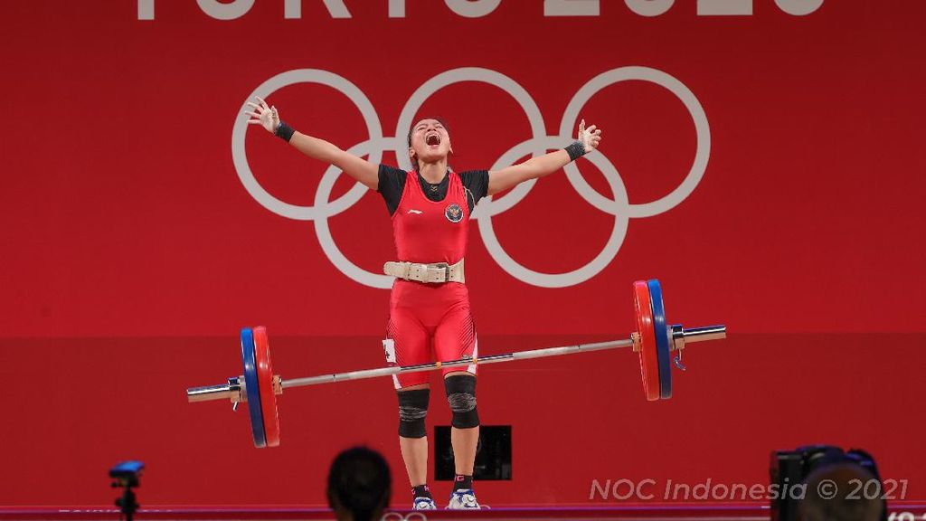 Medali buat Indonesia: Kini Windy Cantika, Dulu sang Ibunda