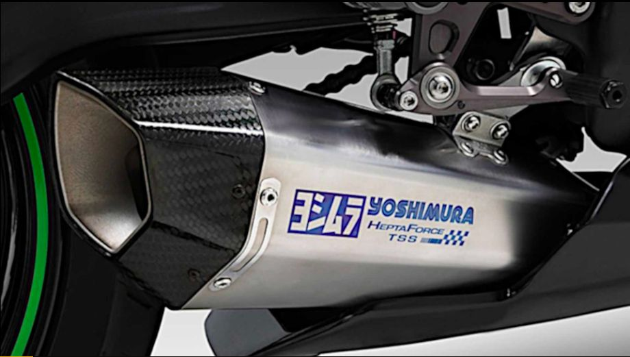 Yoshimura menawarkan knalpot ZX-25R khusus untuk sirkuit. Yoshimura mengeluarkan knalpot Hepta Force TSS Racing Cyclone, yang dibuat khusus agar sesuai dengan ZX-25R.