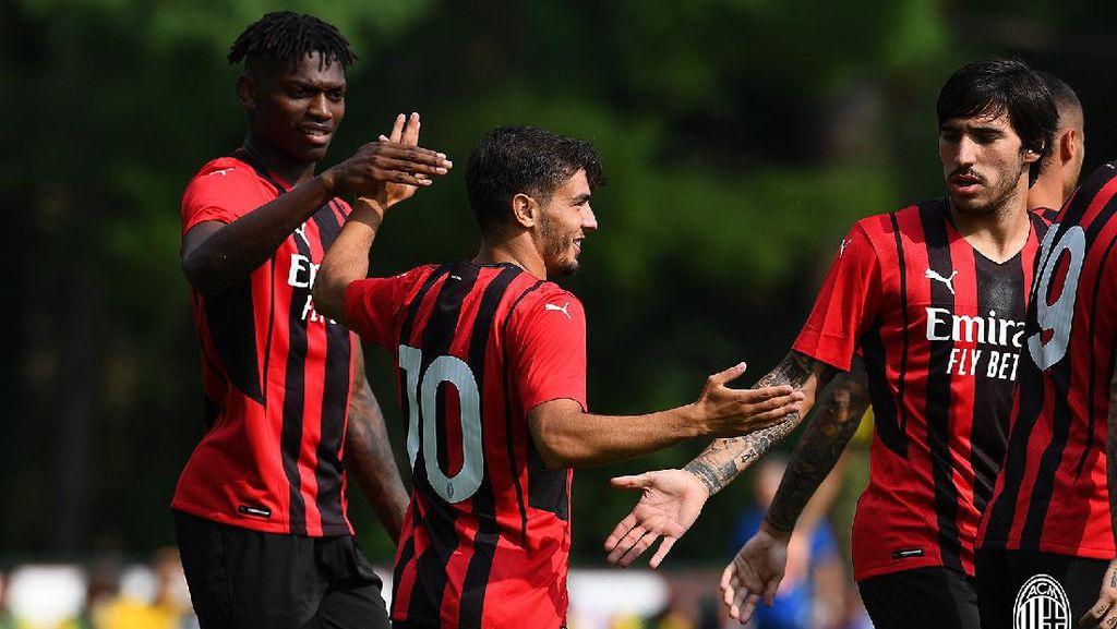 AC Milan Libas Modena 5-0 di Laga Uji Coba