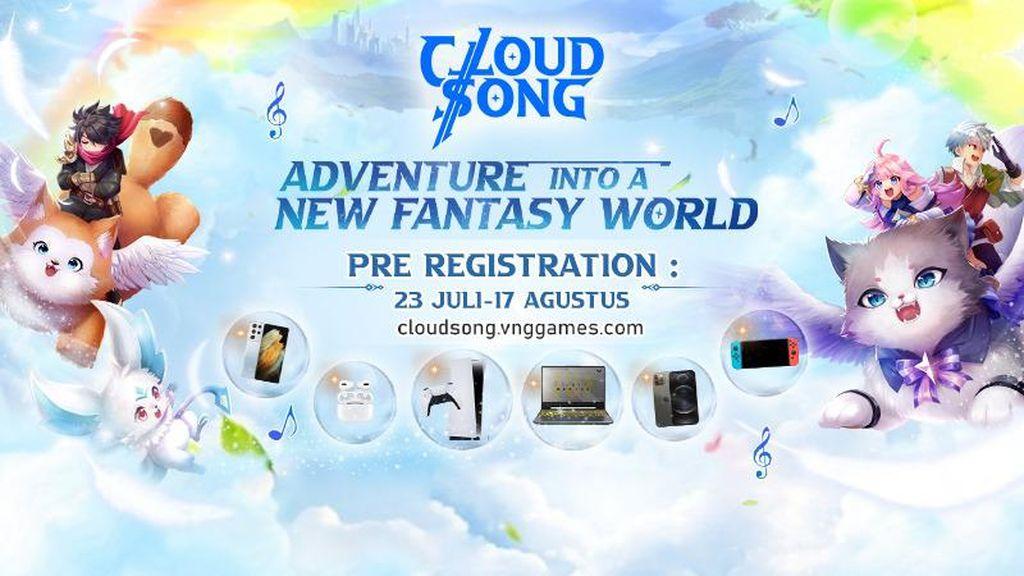 Cloud Song: Saga of Skywalker, MMORPG Berhadiah iPhone 12 Pro Max