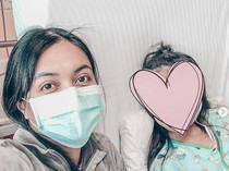 Kesehatan Anak Denada Drop dan Dilarikan ke Rumah Sakit