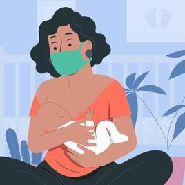 Ibu Positif COVID-19? Simak Panduan Menyusui Bayi yang Aman