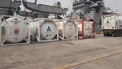 Intip Spesifikasi Kapal Perang India yang Kirim Bantuan Oksigen untuk Indonesia