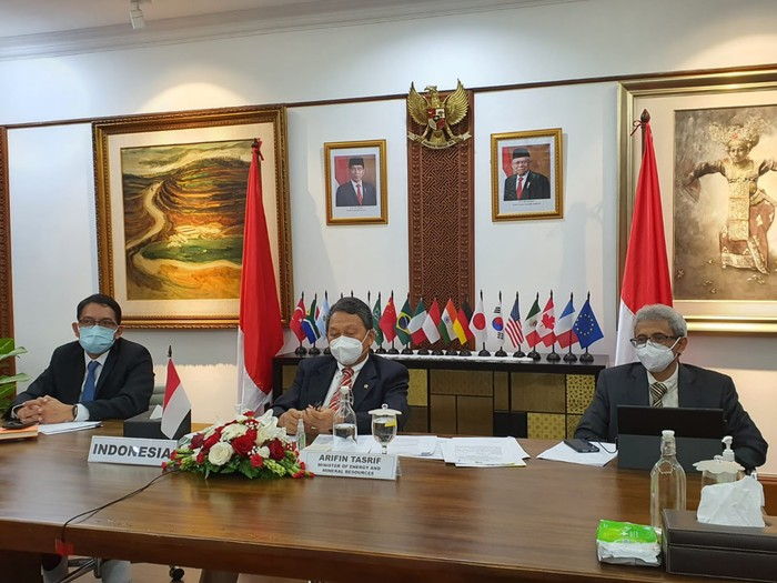 Menteri ESDM Bicara Kebijakan RI Dukung Proyek Hijau di Pertemuan G20