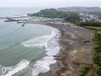 Pantai Tsurigasaki Venue Surfing Olimpiade Tokyo Punya Ombak Keren, Ada Kuil Jodoh