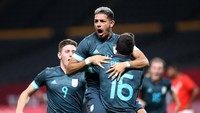 Hasil Sepakbola Olimpade 2020: Argentina Menang, Brasil Seri